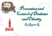Prevention and Control of Diabetes and Obesity