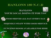 whats on at hanlons