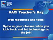 AACI teacher's day