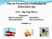 Plan de Promocin y Publicidad de Kisha Salon Spa