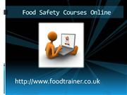Food Safety Courses Online