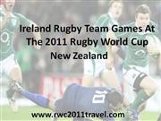 Ireland In The 2011 Rugby World Cup