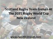 Scotland In The 2011 Rugby World Cup