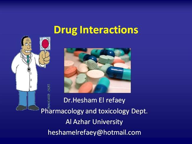drug interaction ppt |authorstream, Skeleton