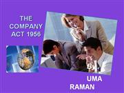 company act 1956 ppt