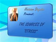 the sources of stress