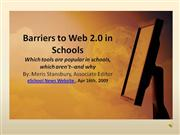 Barriers to Web 2.0 rev3show