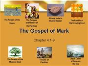 Bible Study - Mark 4:1-9 The Parable of the Sower