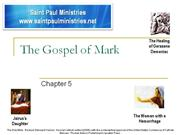 Bible Study - Mk. 5:1-20 The Healing of the Demoniac