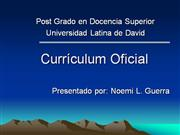 curriculo oficial