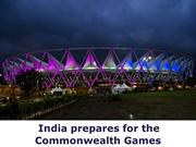 India prepares for the Commonwealth Games