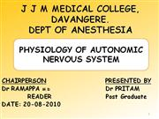 autonomic nervous system
