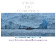 STRESS and corruption