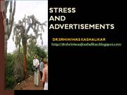 STRESS and ADVERTISEMENTS