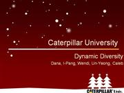 Case Study: Caterpillar University