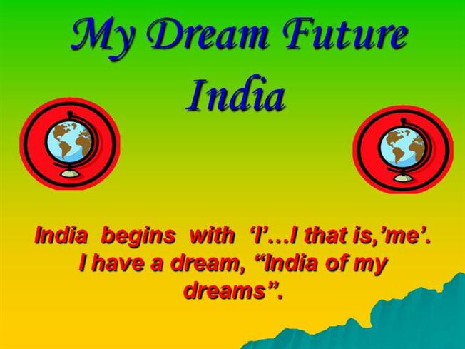 Essay On India Of My Dream In English