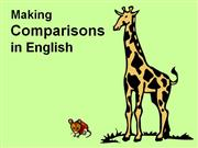comparative grammar