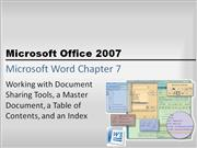 Word Chapter 7