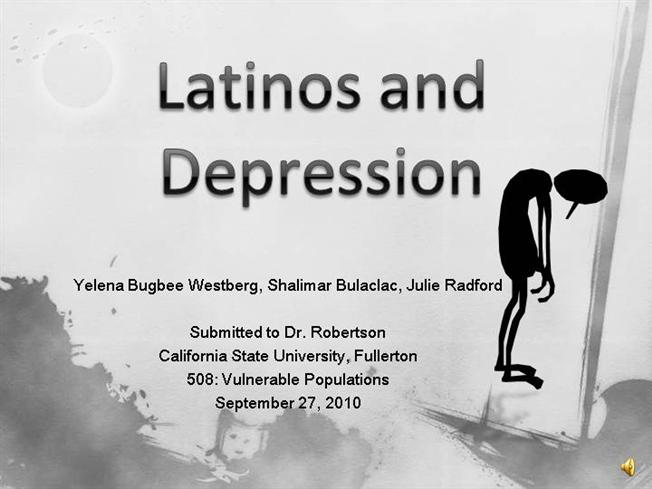 Latinos And Depression |authorSTREAM