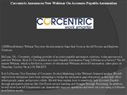 corcentric announces new webinar on accounts payable automation