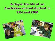 a day in the life of an australian student