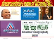 reliance telecommunication