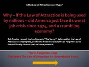 11 Forgotten Laws - Law of Attraction