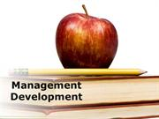 Management Development (Modern) Powerpoint Content