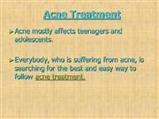 acne treatment: a treatment for acne with causes, symptoms and natural
