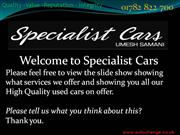 specialist cars stoke- used car specialist