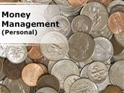 money management (personal) modern powerpoint content