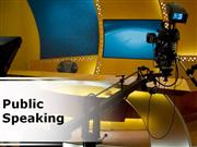 public speaking (modern) powerpoint content