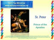 Bible Study - Mk. 8 33 What do we know about St. Peter