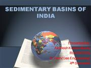 SEDIMENTARY BASINS OF INDIA