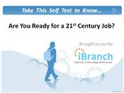 are you ready for a 21st century job?