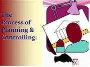 planning and controlling (MIS)