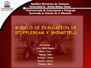 8 MODELO DE EVALUACION Stufflebeam and Shinkfield