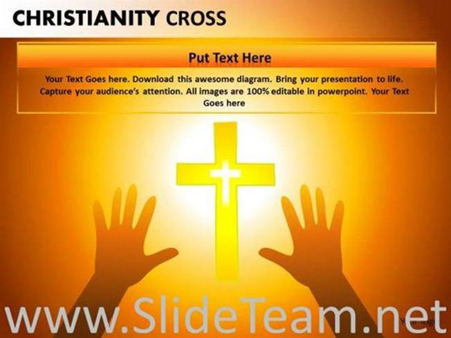 Christ Worship Powerpoint Backgrounds For Churches Powerpoint Diagram