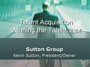 sutton group talent acquisition presentation