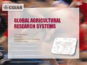 Global Agricultural Research System