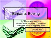 Boeing Ethics