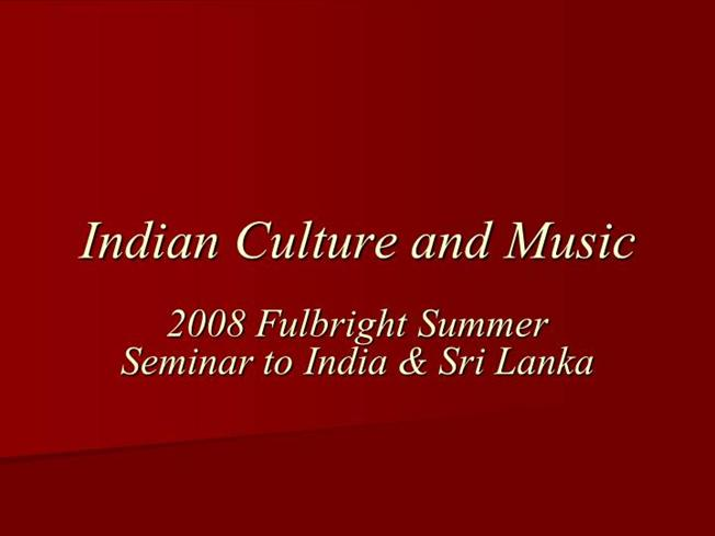 Essay On Indian Culture