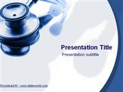 Medical Stethoscope Powerpoint (PPT) Templates | PowerPoint Template f
