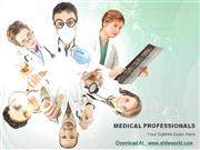 Medical Professionals Powerpoint (PPT) Templates | PowerPoint Template