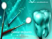 Dental Powerpoint (PPT) Templates | Powerpoint Template for Dentistry