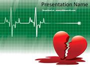 Heart Powerpoint(PPT) Templates | Powerpoint Template for ECG | PPT Ba