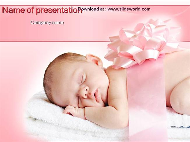 Baby Powerpointppt Templates Ppt Template For Baby Powerpoin
