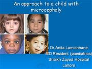 an approach to a child with microcephaly