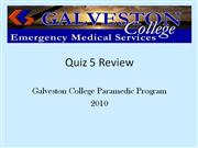 Quiz 5 Review