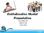 collaborative model presentation